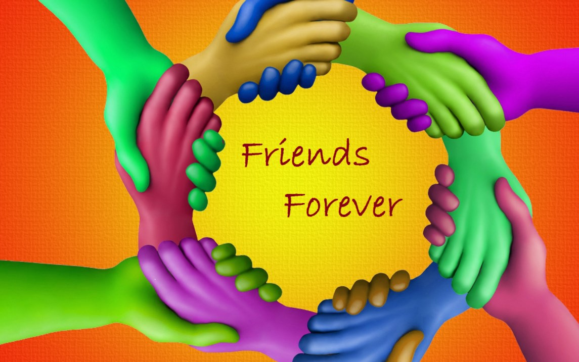Happy New Friends Day